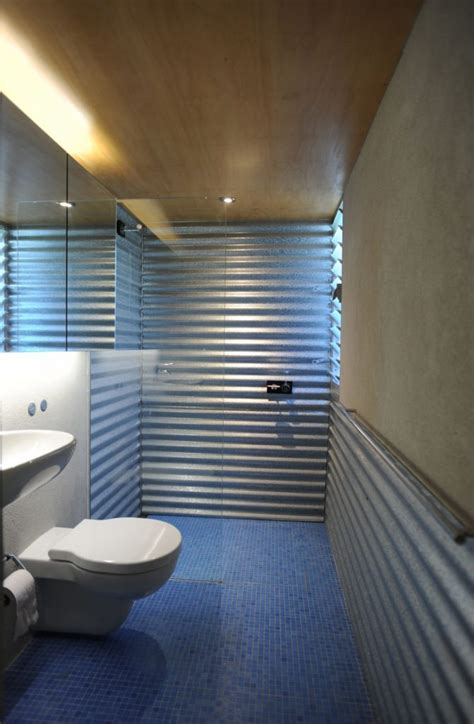 corrugated metal bathroom corrugated metal sheets bathroom 171 home decorating trends