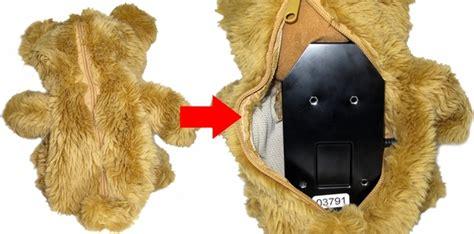 teddy bear hidden cameras teddy bear self contained battery operated motion