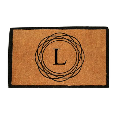 Thick Door Mats by Entryways Blank 36 In X 72 In Thick Woven