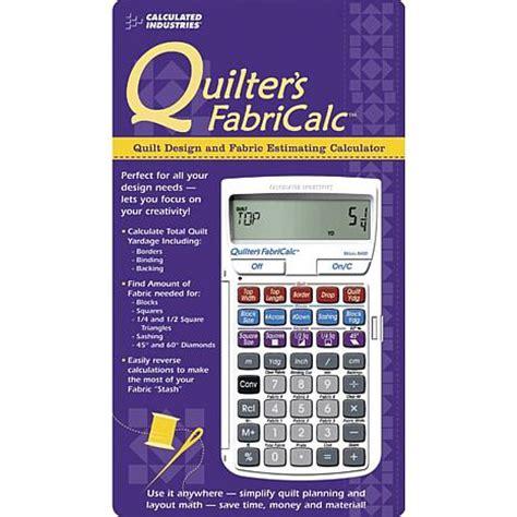 Quilting Fabric Calculator fabricalc quilt design and fabric calculator 2349054 hsn