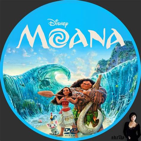 locandina film moana moana dvd custom disc proyectos que intentar pinterest