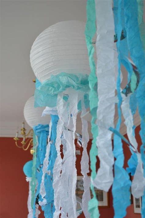How To Make Paper Jellyfish - the sea paper lantern jellyfish cumplea 241 os zoe
