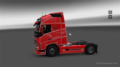 2012 volvo truck simple skin for volvo fh 2012 euro truck simulator 2 mods