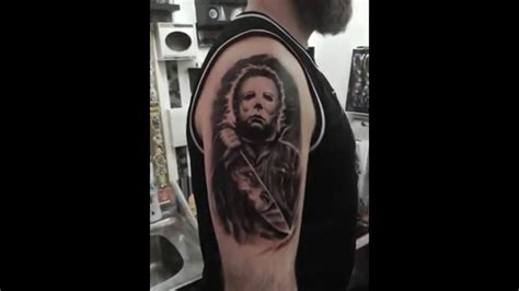 michael myers tattoo michael myers