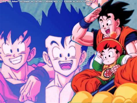 imagenes de gohan y goku goku gohan images goku andgohan hd wallpaper and