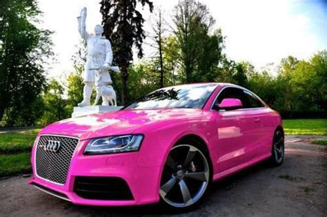 pink audi girly cars pink cars every women will love girly pink
