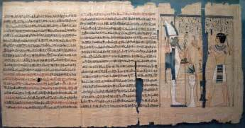 4 000 year old ancient egyptian manuscript measuring more than 8ft has