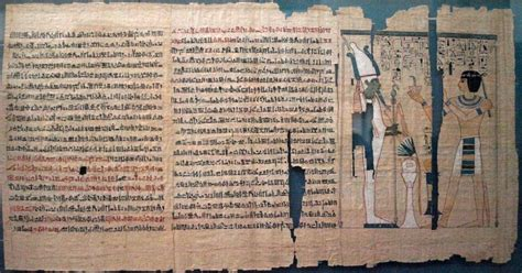 book of the dead pictures 4 000 year ancient manuscript measuring more