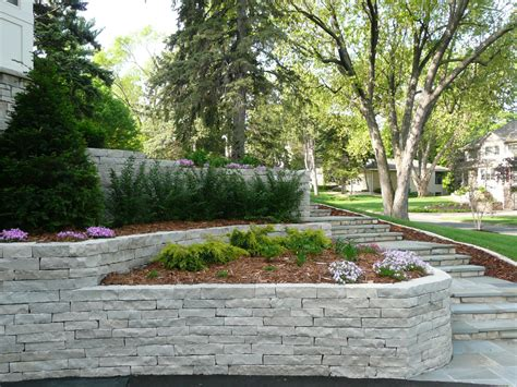 Retaining Wall Design Triyae Garden Retaining Wall Ideas Various Design