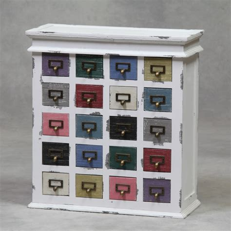 Commode Tiroirs Multicolores by Commode 224 20 Tiroirs Multicolores Sur Moinat Sa