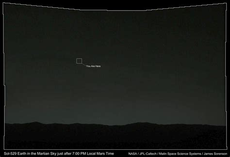 Are From Mars here is what earth looks like from mars the independent