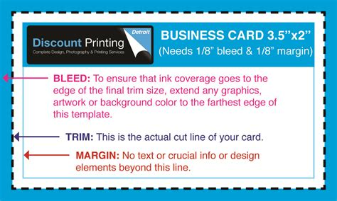 business card pdf template bleed business card pdf template bleed choice image card