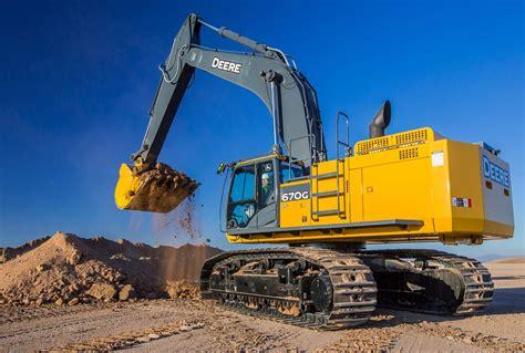 john deere updates  lc excavator  improved hydraulics