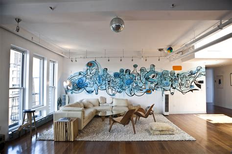 gorgeous indoor graffiti designs that will your mind