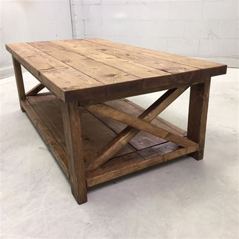Farmhouse Coffee Table Pine