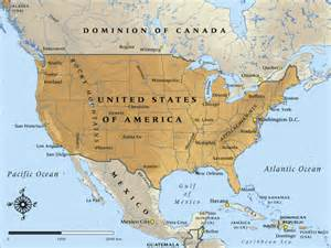 united states map with canada and mexico map of united states of america in 1917 nzhistory new