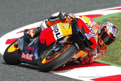 Motorradrennen Gp Heute by Casey Stoner Honda Motogp Gp Barcelona 2012