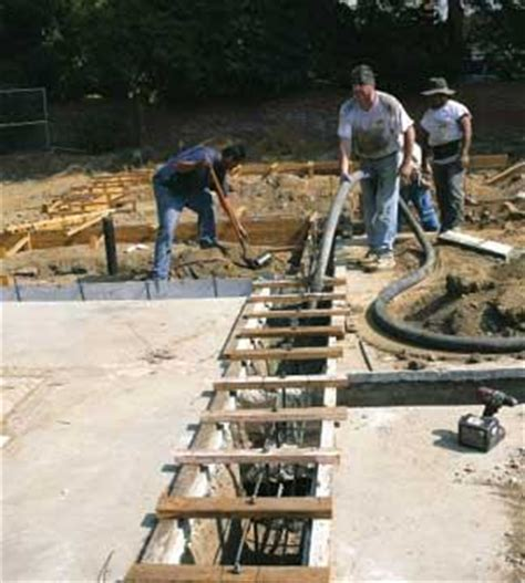 Adding Plumbing To Slab Foundation by Adding To An Existing Slab Foundation Jlc
