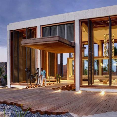 modern resort home design luxury and contemporary hotel built with natural elements
