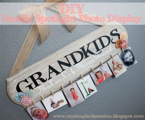 Handmade Gifts For Grandparents - diy home sweet home handmade gifts for grandparents