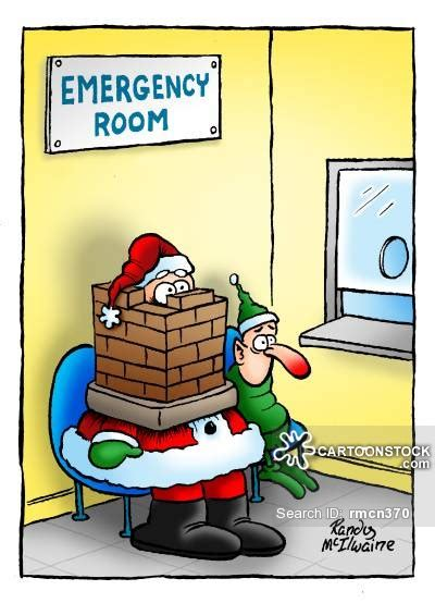 Santa Emergency Room by And Comics Pictures From