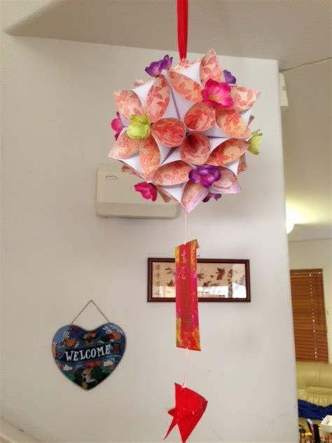 new year flower lantern thing or two new year origami flower lantern
