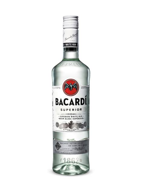Code Bacardi Bottle White bacardi superior rum 750 ml bottle fbm distillery co