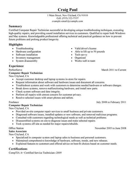amazing computers technology resume examples livecareer