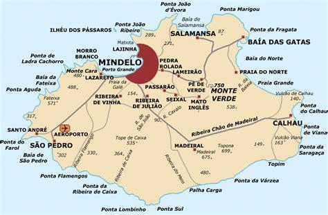mapa de cabo verde portugal tours cabo verde mapa