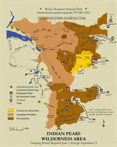 indian peaks trail map colorado s areas