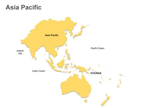 Asia Pacific Region Map Outline by Pakistan Map Outline Cliparts Co