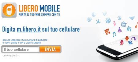mobile libero it libero mobile sempre pi 249 siti sempre con te su mondolibero