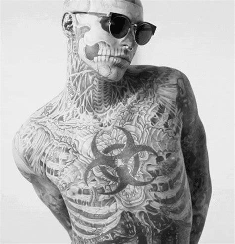skeleton man tattoo full body skeleton man tattoo pinterest