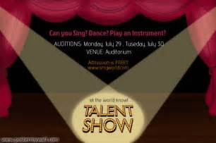 talent show flyer template talent show flyer template postermywall