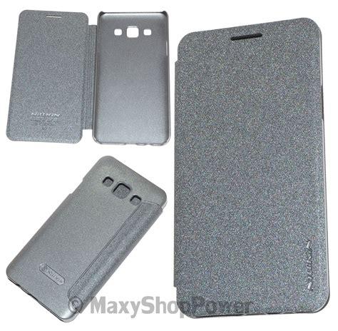 Leather Flip Nillkin Sparkle Samsung Galaxy A3 1 nillkin custodia sparkle leather flip book samsung galaxy a3 a300f black