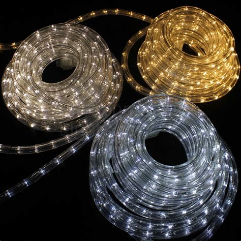 Patio Rope Lights Solar Led Rope Lights Outdoor Roselawnlutheran