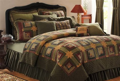 Country Bed Comforters by Country And Primitive Bedding Quilts Tea Cabin Bedding