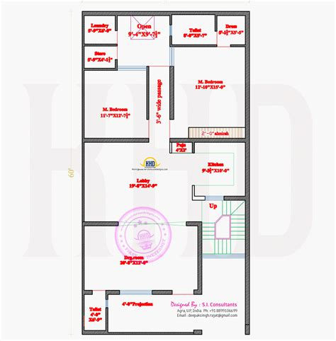 house map design 20 x 50 modern 50 x 100 house floor plan free modern house plan