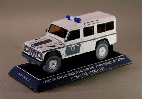 Patrol Car Paper Craft land rover papercraftsquare free papercraft