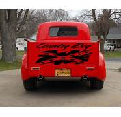 Tailgate Truck Country Boy Confederation Flag Rebel