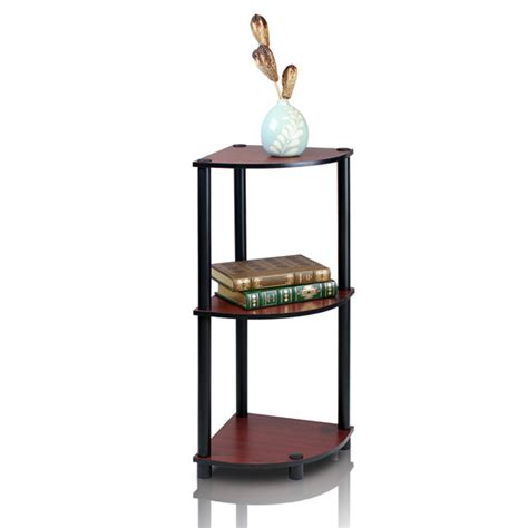 furinno 3 tier bookcase furinno turn n tube 3 or 4 tier corner shelves