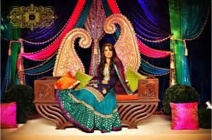 simple mehndi stage decoration most beautiful mehndi stage flower arrangements weddings