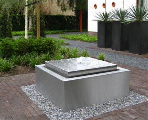 modern water feature self contained contemporary water feature fountain