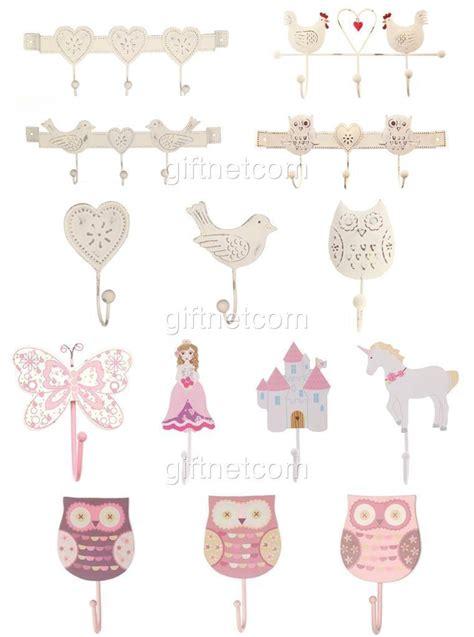 vintage style metal wall hooks shabby chic wall hooks heart owl decoration hooks ebay