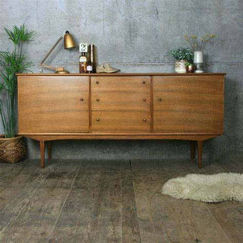 Nachtkonsole Vintage by 1000 Ideas About Sideboard Nussbaum On