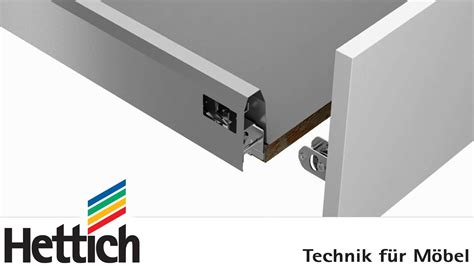 attacchi per lade arcitech drawer system assembly installation and