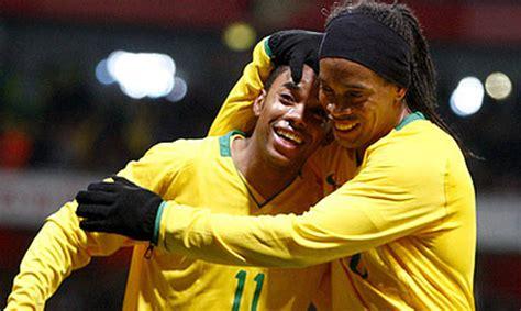 ronaldinho biography in english ronaldinho given world cup hope by menezes world