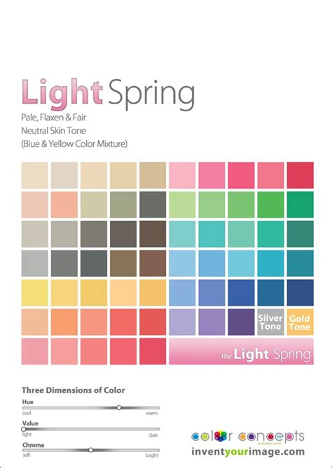spring color schemes best 25 light spring palette ideas on pinterest light