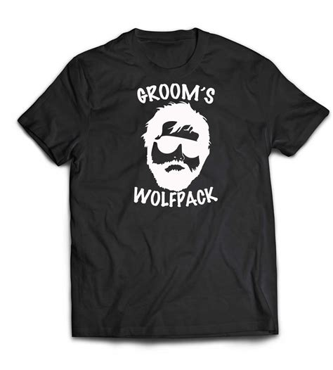 Tshirt Wolfpack groom s wolfpack cotton t shirt mugman