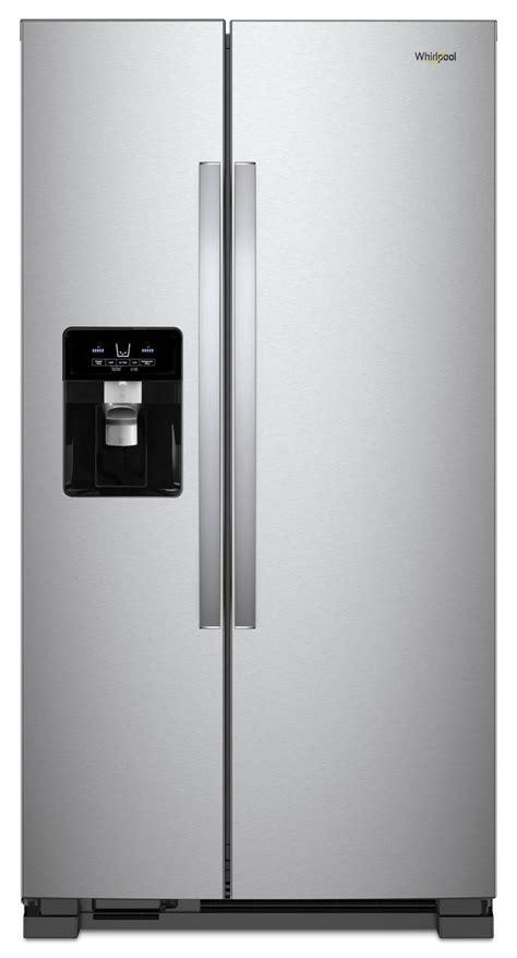 whirlpool  side  side refrigerator wrssihz